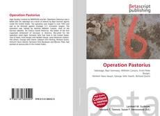 Borítókép a  Operation Pastorius - hoz