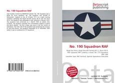No. 190 Squadron RAF kitap kapağı