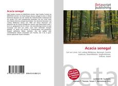 Capa do livro de Acacia senegal