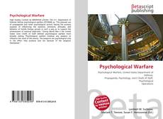 Bookcover of Psychological Warfare