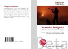 Capa do livro de Operation Bodyguard