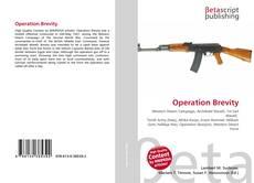 Capa do livro de Operation Brevity