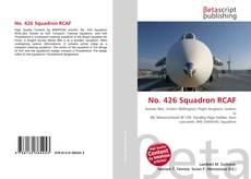 No. 426 Squadron RCAF kitap kapağı