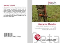 Bookcover of Operation Chronicle