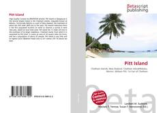 Bookcover of Pitt Island