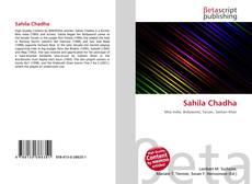 Capa do livro de Sahila Chadha