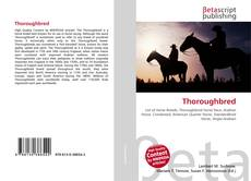 Capa do livro de Thoroughbred
