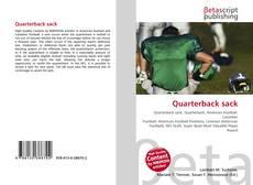 Quarterback sack kitap kapağı
