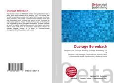 Capa do livro de Ouvrage Berenbach