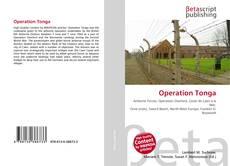 Capa do livro de Operation Tonga