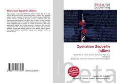Buchcover von Operation Zeppelin (Allies)