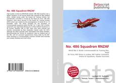 Capa do livro de No. 486 Squadron RNZAF