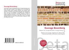 Capa do livro de Ouvrage Bovenberg