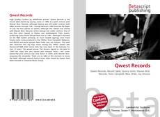 Capa do livro de Qwest Records
