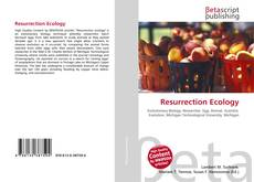 Bookcover of Resurrection Ecology