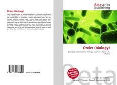 Обложка Order (biology)