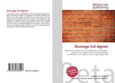 Bookcover of Ouvrage Col Agnon