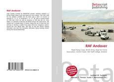 Borítókép a  RAF Andover - hoz