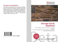 Bookcover of Ouvrage Col de Restefond
