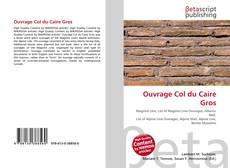 Buchcover von Ouvrage Col du Caire Gros