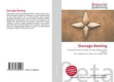 Capa do livro de Ouvrage Denting