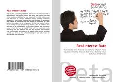 Bookcover of Real Interest Rate