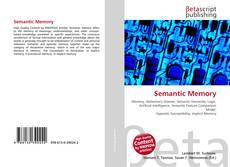 Buchcover von Semantic Memory