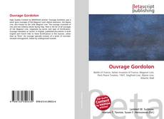 Capa do livro de Ouvrage Gordolon