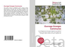 Bookcover of Ouvrage Granges Communes