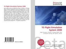 Bookcover of YS Flight Simulation System 2000