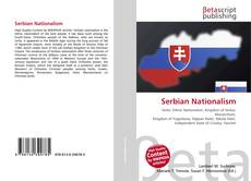Обложка Serbian Nationalism