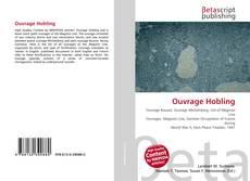 Capa do livro de Ouvrage Hobling
