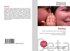 Bookcover of Secrecy