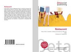 Bookcover of Restaurant