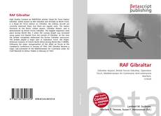 Bookcover of RAF Gibraltar
