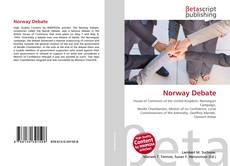 Portada del libro de Norway Debate