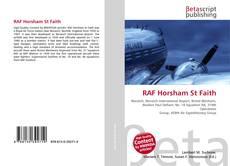 Capa do livro de RAF Horsham St Faith