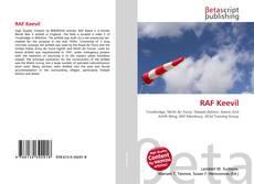 Portada del libro de RAF Keevil