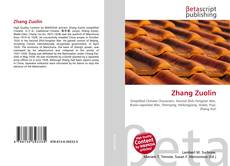 Bookcover of Zhang Zuolin