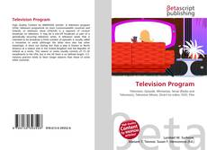 Bookcover of Television Program