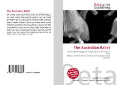 Capa do livro de The Australian Ballet