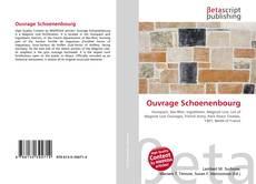 Capa do livro de Ouvrage Schoenenbourg