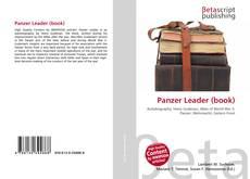 Borítókép a  Panzer Leader (book) - hoz