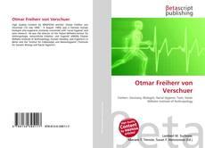 Bookcover of Otmar Freiherr von Verschuer