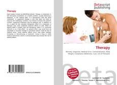 Buchcover von Therapy