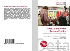 Bookcover of State Duma of the Russian Empire