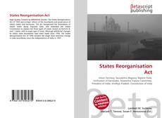 Capa do livro de States Reorganisation Act