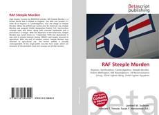 Portada del libro de RAF Steeple Morden