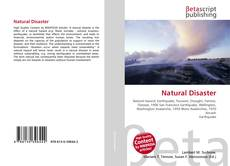 Bookcover of Natural Disaster
