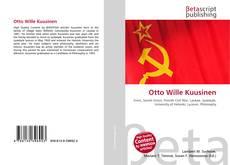 Bookcover of Otto Wille Kuusinen